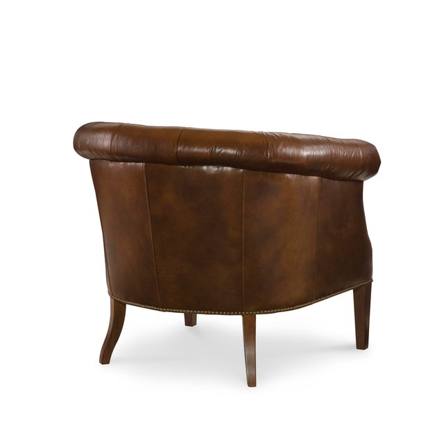 This piece is available only as shown, and will ship in 2-3 weeks. A refined chair from Century Furniture's Century...