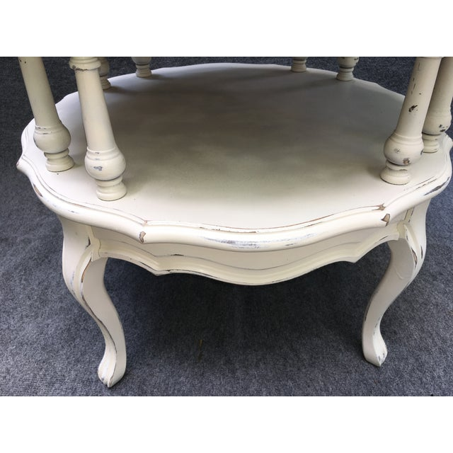 Vintage 2 Tiered Mersman Accent Table For Sale - Image 9 of 11