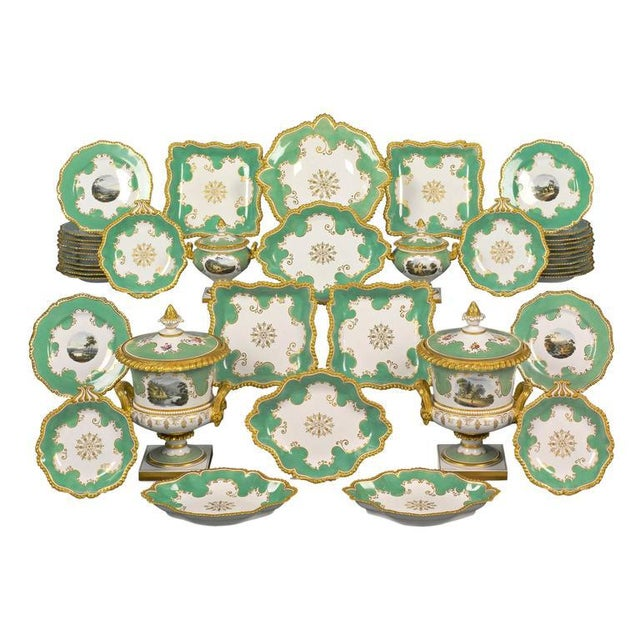 Mid 19th Century Worcester Porcelain Dessert Service For Sale - Image 5 of 5