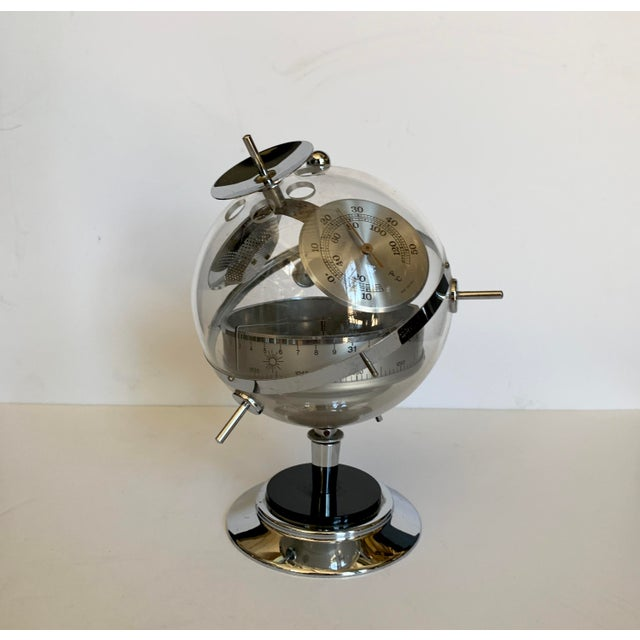 Mid-Century Modern Mid-Century Space Age Barometer 1960s For Sale - Image 3 of 3