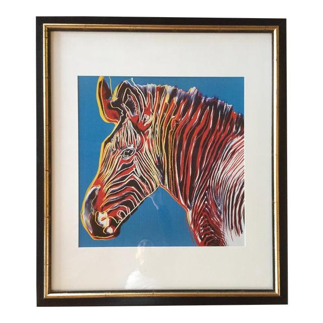 Pop Art Style Zebra Print - Image 1 of 3