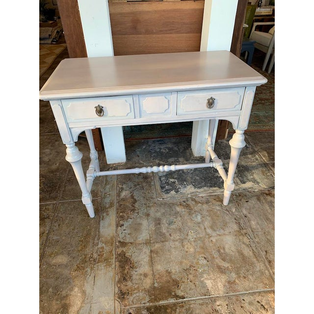 1920s Victorian Petite Desk or Vanity For Sale - Image 9 of 9
