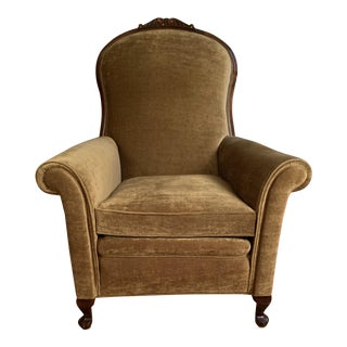 Late 20th Century Victorian Style Chair For Sale
