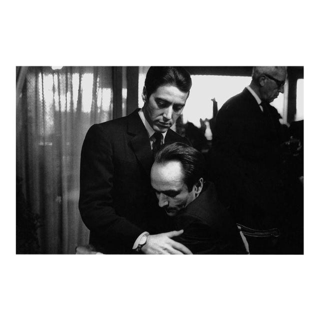 """The Godfather: Part II"" Al Pacino and John Cazale 1974 - Image 1 of 5"