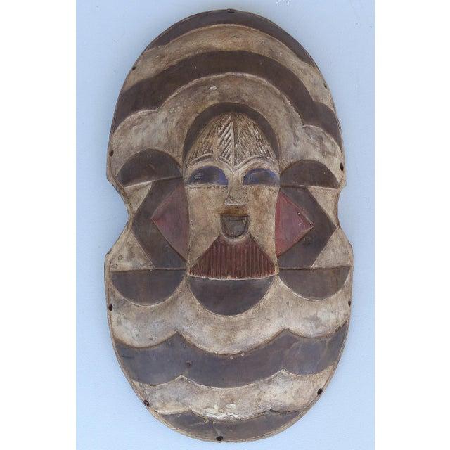 African Shield Masks Songye Congo - A Pair