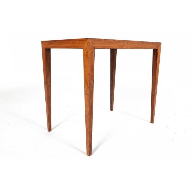 Severin Hansen Rosewood Side Tables - A Pair - Image 8 of 10