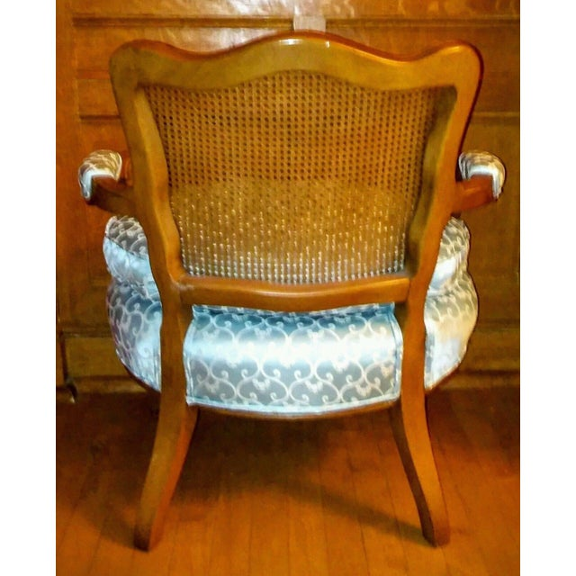 Vintage French Provincial Caned Back Chair - Image 5 of 5