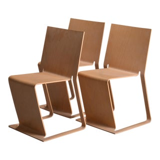 Swedish lForm Stacked Chairs - Set of 3 For Sale