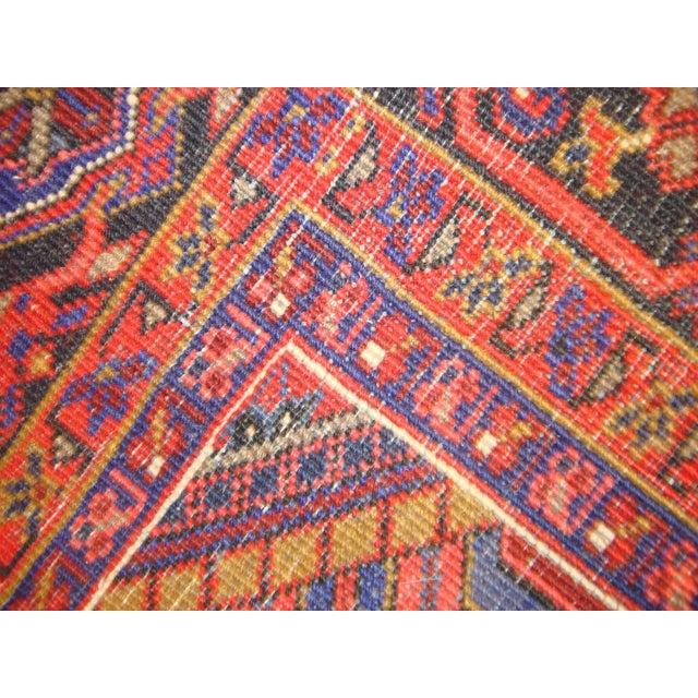 "Traditional Leon Banilivi Persian Heriz Rug - 12'10"" X 10'1"" For Sale - Image 3 of 6"