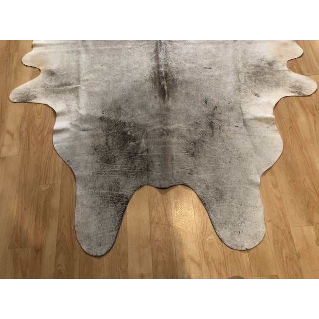 "Contemporary Contemporary Brazilian Cowhide Rug - 7'9"" X 6'2"" For Sale - Image 3 of 5"