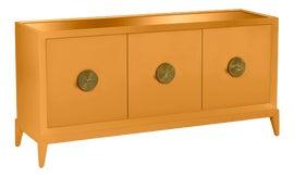 Image of Orange Credenzas and Sideboards