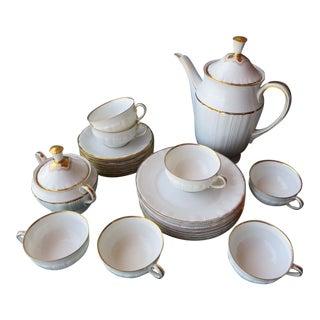 Early 20th Century Carstens Sorau Porcelain Dessert Set For Sale