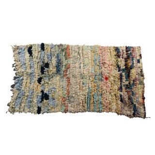 Vintage Boucherouite Rug Rag - 3′8″ × 6′