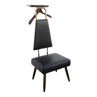 Mid Century Modern Vintage Valet Butler Chair by Nova Product 2358 For Sale