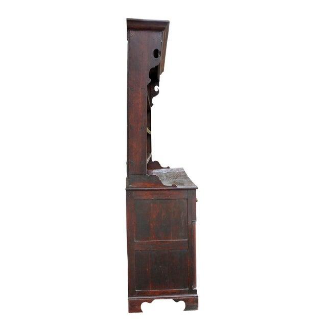 Brown George III Oak Welsh Dresser For Sale - Image 8 of 11