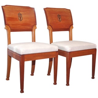Pair of Chairs by Nordiska Kompaniet, Circa 1915 For Sale