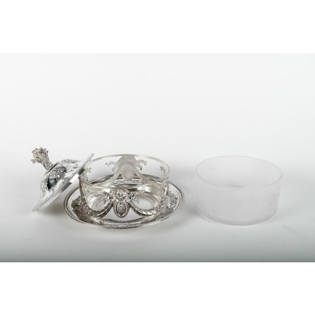 Early 20th Century Old English Sheffield Silver Plate Table Display Piece For Sale - Image 5 of 7