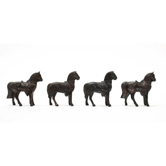 Vintage Horse Toy or Figurines. It is hollow pot metal. Made in Japan.
