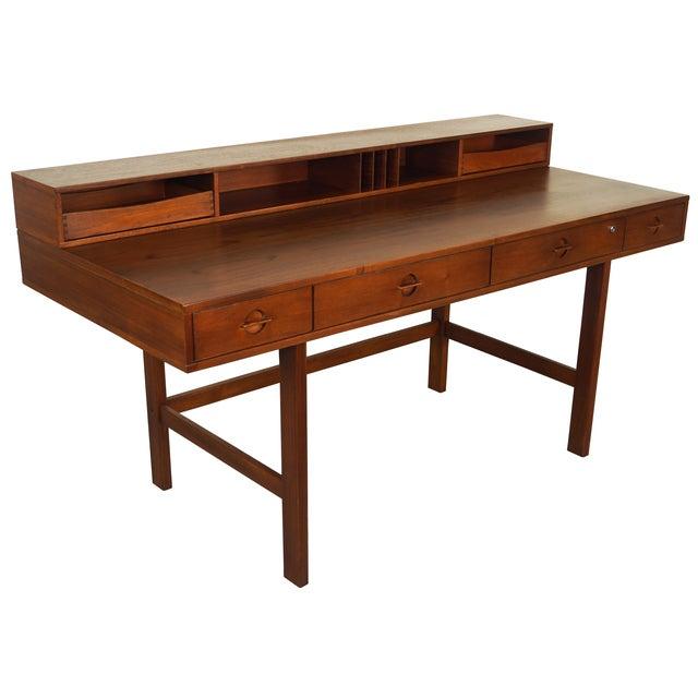 Jens Quistgaard Teak Flip -Top Desk - Image 1 of 7