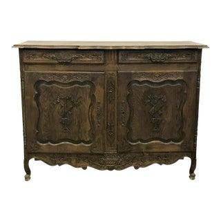 19th Century French Oak Buffet