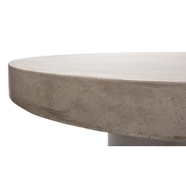 """Dark Grey Circa 47"""" Dining Table For Sale In Philadelphia - Image 6 of 7"""