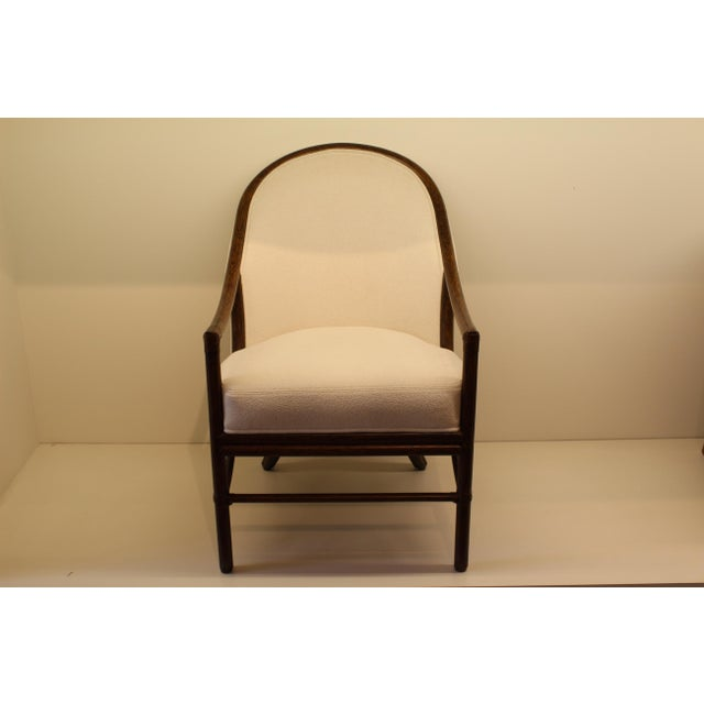McGuire Orlando Diaz-Azcuy Aria Dining Arm Chair - Image 2 of 7