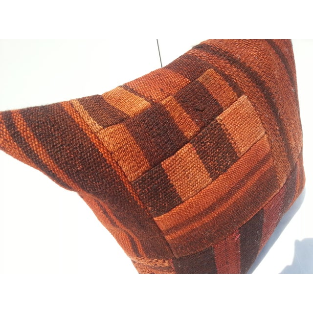 Handwoven Turkish Pillow Cover For Sale - Image 4 of 6
