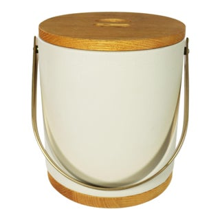 Mid Century Modern Morgan & Company Bucket Brigade Ice Bucket For Sale