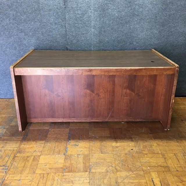 Vintage Modern Executive Desk - Image 10 of 10