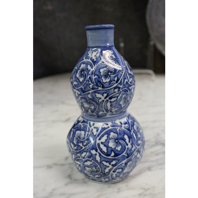Chinese Cobalt Bud Vase For Sale In New York - Image 6 of 6