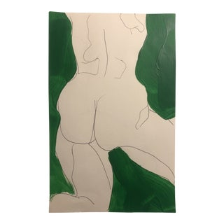 Nude From the Rear by James Bone 1990s For Sale