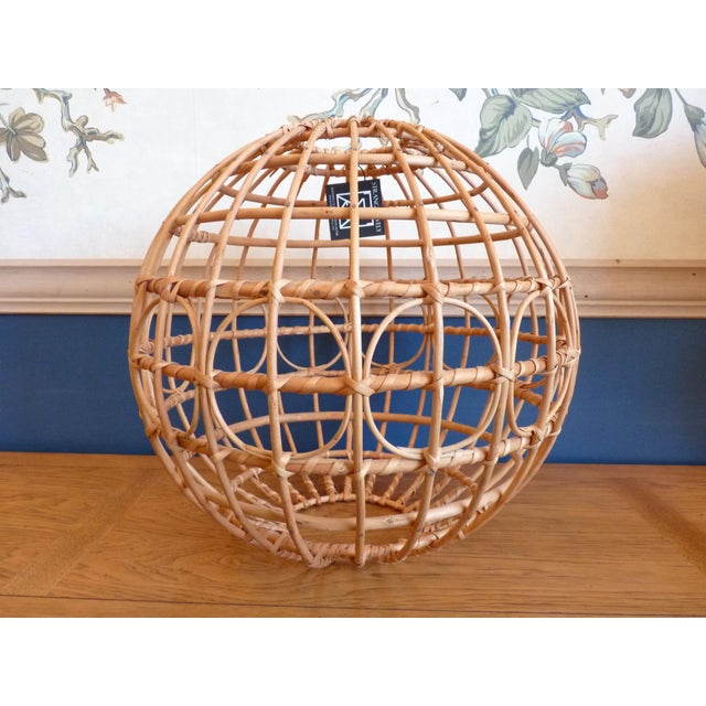 Albini style pouf or globe. We think this piece would make an excellent globe light feature! Just add the wiring for the...