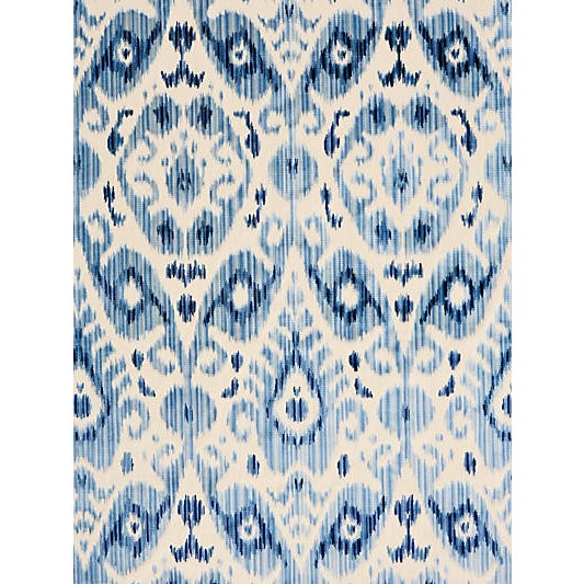 Derived from an ancient Silk Road ikat robe, Tashkent Velvet blends exotic patterning with a completely luxurious...