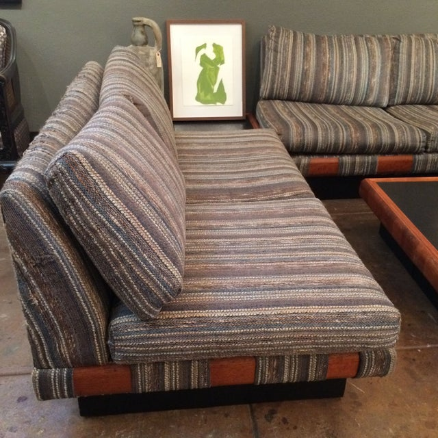 1960s Adrian Pearsall Platform Sofa and Table Set For Sale - Image 10 of 10