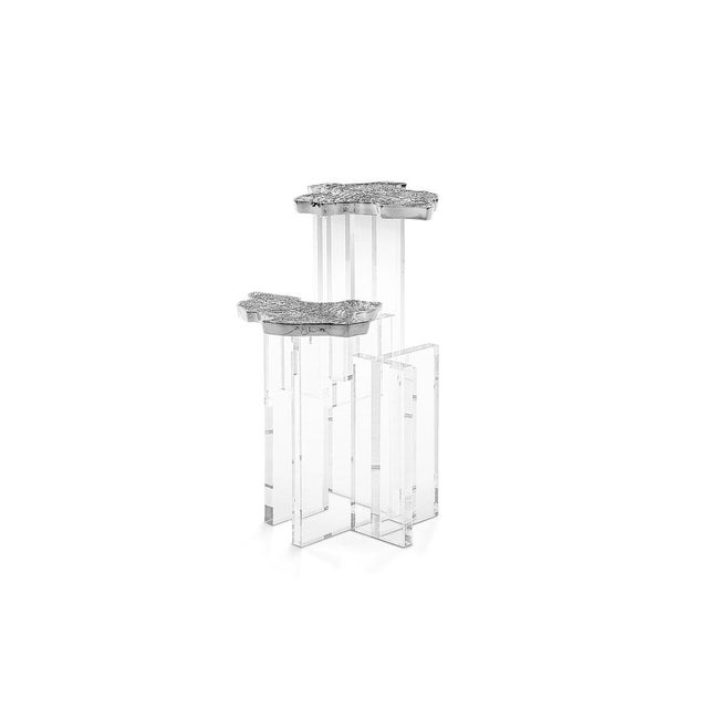 This impressionist side table is an homage to Monet's work. This sophisticated, organic limited edition side table is...