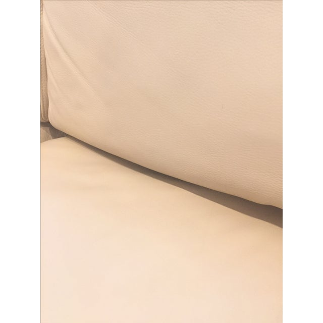 Ver Design Cream Leather Armonia Sofa - Image 7 of 7