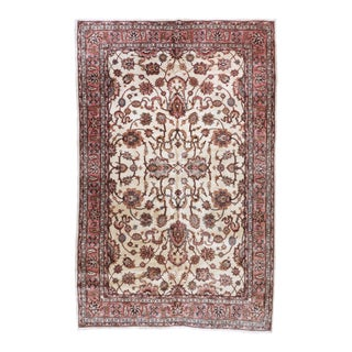 1920s Antique Turkish Sparta Rug - 6′9″ × 10′7″ For Sale