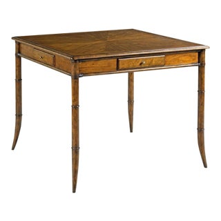 Modern Linwood Game Table For Sale