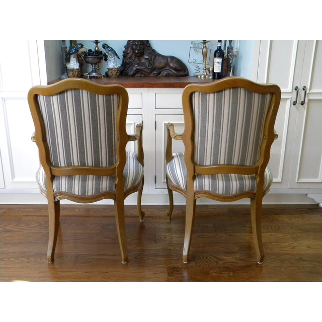 Vintage French Style Fauteuils - A Pair - Image 6 of 6