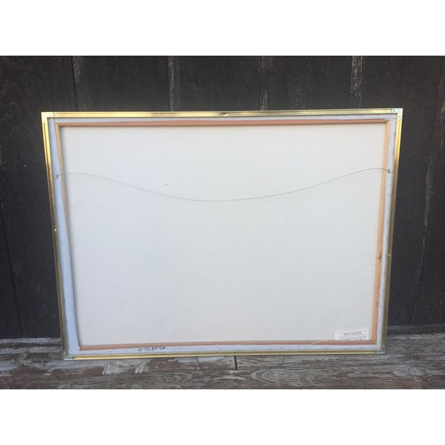 Blue Lee Reynolds Vanguard Studios Oil Painting For Sale - Image 8 of 10