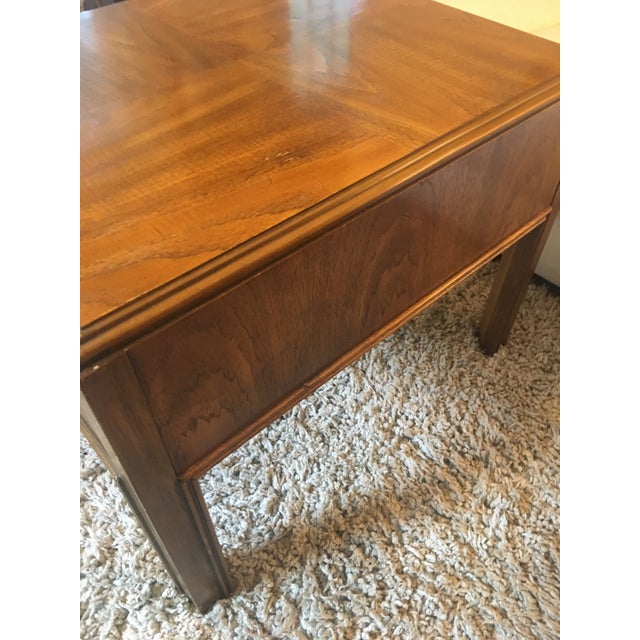 Drexel Heritage 1970s Mid-Century Modern Drexel End Table For Sale - Image 4 of 9