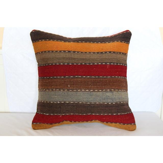 turkish vintage decorative handmade pillow cover 16 x 16 chairish. Black Bedroom Furniture Sets. Home Design Ideas