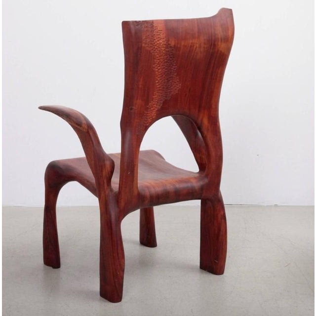 One of a Kind Studio Charles B. Cobb Armchair, US, 1977 For Sale - Image 4 of 11