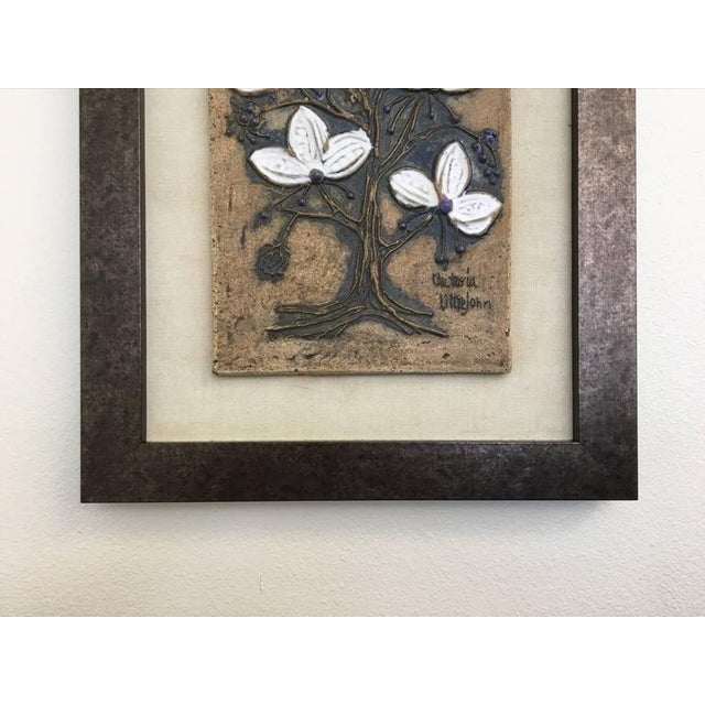 1970s Ceramic Tile Wall Art by Victoria Littlejohn For Sale - Image 5 of 8