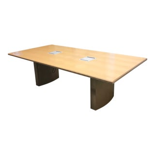Modern Gunlocke Conference Room Table For Sale