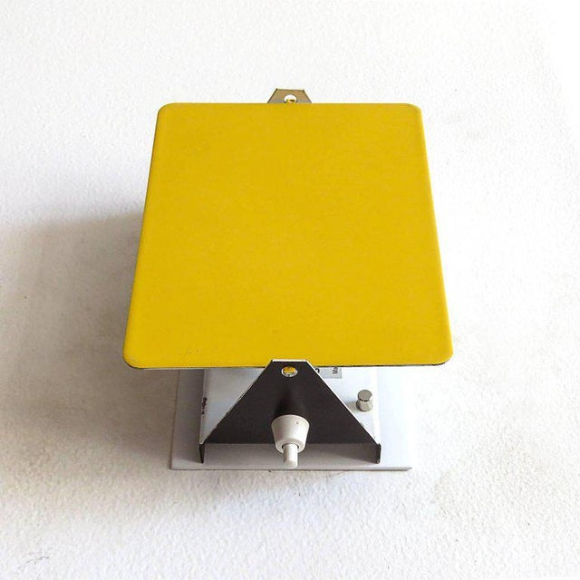 Mid-Century Modern Charlotte Perriand Cp-1 Wall Lights Yellow For Sale - Image 3 of 10