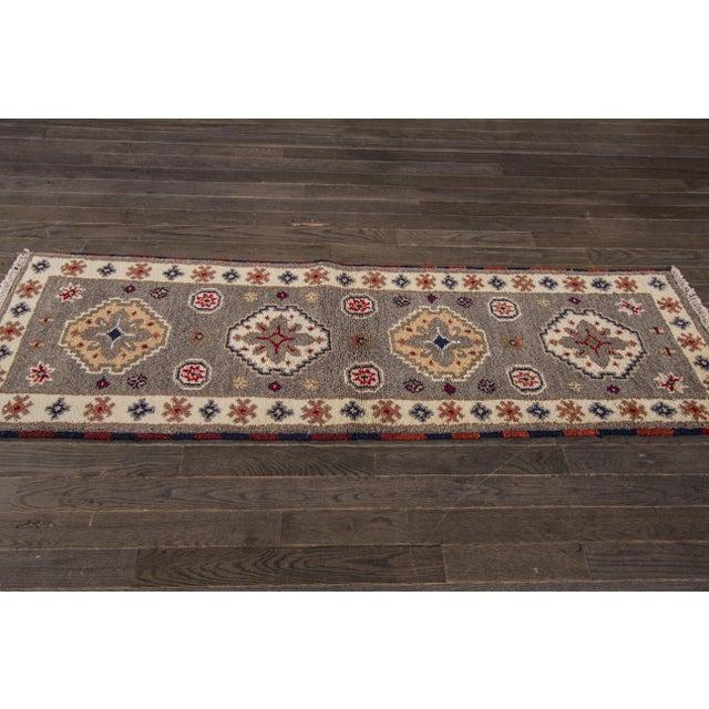 "Apadana - Modern Kazak Rug, 2'1"" x 6'6"" - Image 3 of 8"