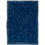 """Constellation Cashmere Blanket, Midnight, 51"""" x 71"""""""