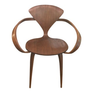 Norman Cherner Arm Chair For Sale