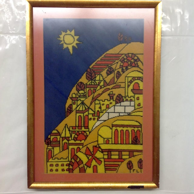 Offered is a mid century era tapestry after Fernand Ledger. Signed FL lower right. We ALWAYS accept reasonable offers....